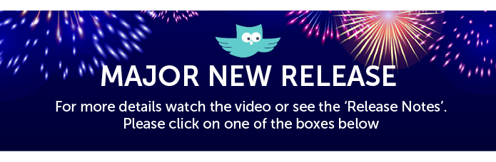 Major new release. For more details watch the video or see the 'Release Notes'. Please click one of the boxes below.