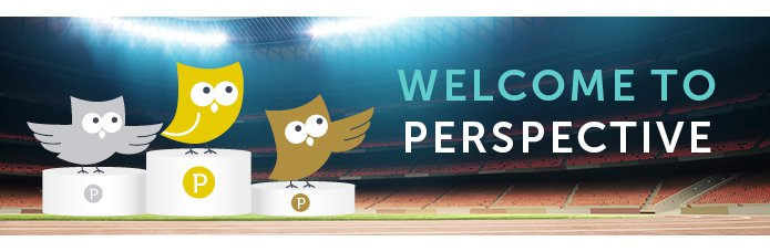 """""""Welcome to Perspective - three owls in an athletics stadium, stand on the winners podiums, bathed in their respective medal colours."""""""